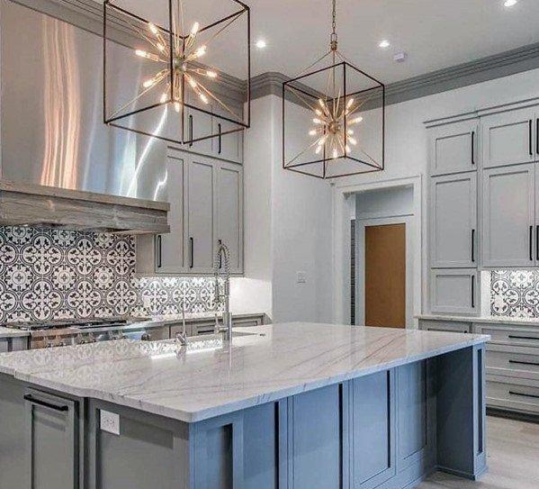 Top 50 Best Kitchen Island Lighting Ideas - Interior Light Fixtures