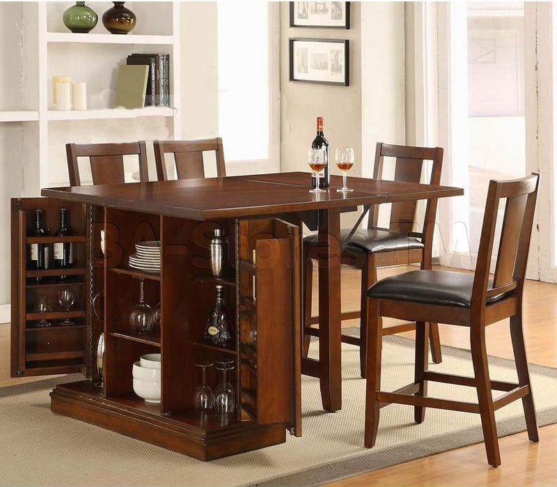 Choosing the right modern kitchen table   sets with storage for an elegant design