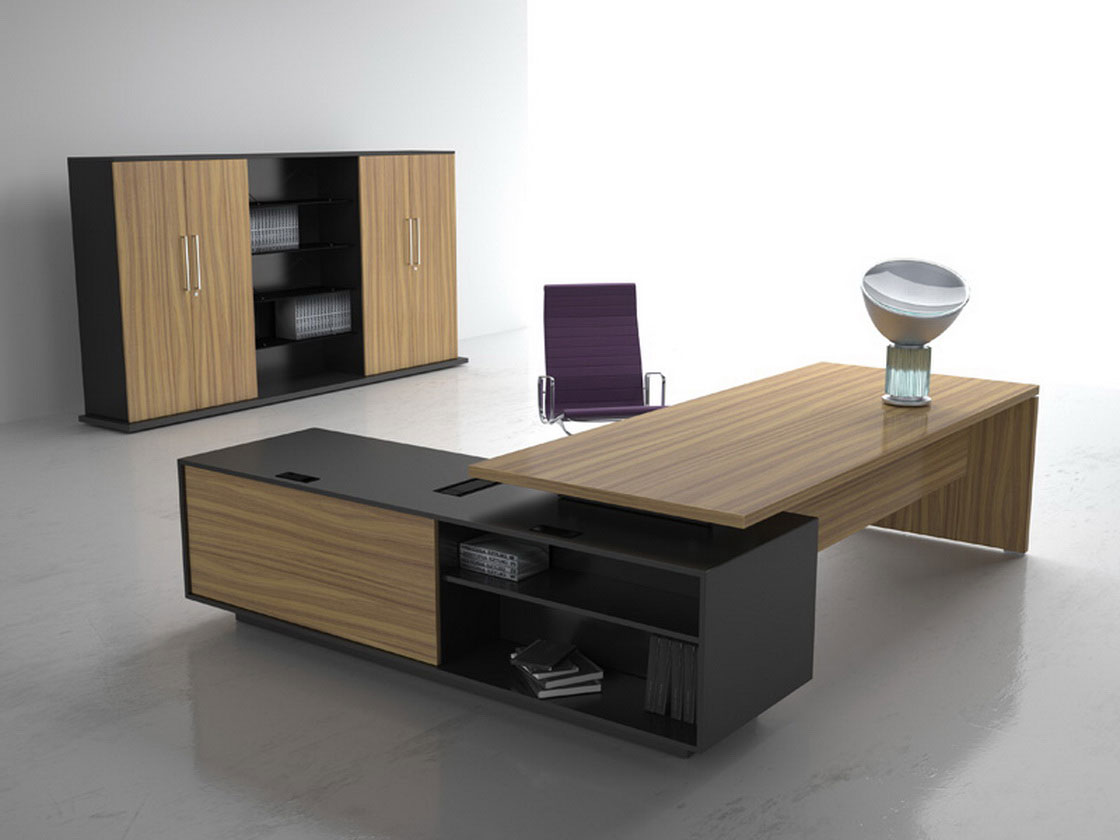 Luxury Modern L Shaped Office Desk