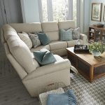 Add flexibility in your living room with   an l shaped sectional sofa with recliner