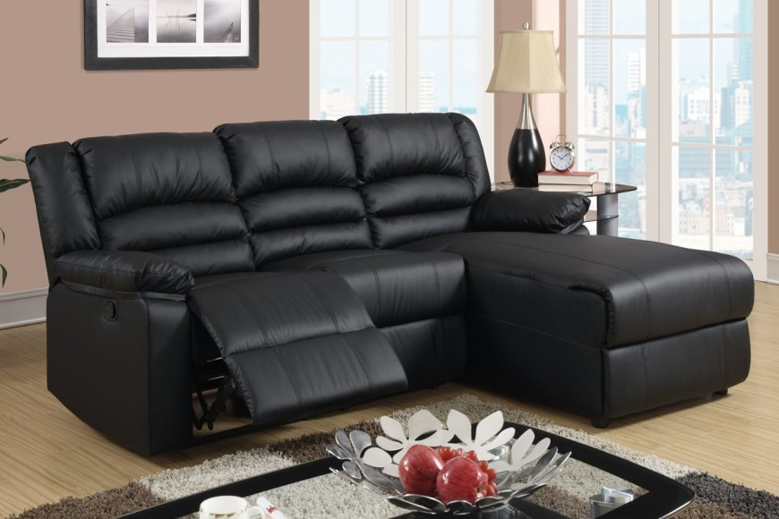 Small recliner sectional