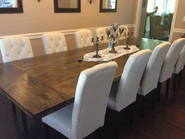 Dining Tables, Large Dining Tables Large Dining Room Table Seats 20 DIY  Restoration Hardware Inspired