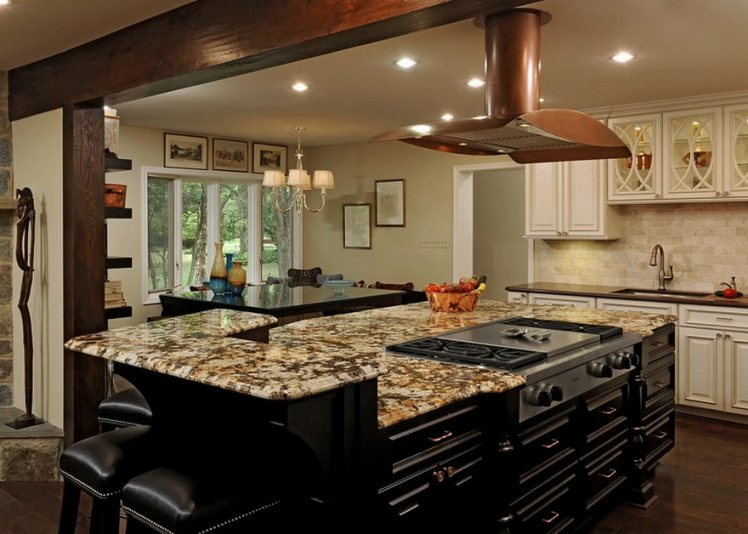 Large Kitchen Island With Seating #4 Large Kitchen Islands With