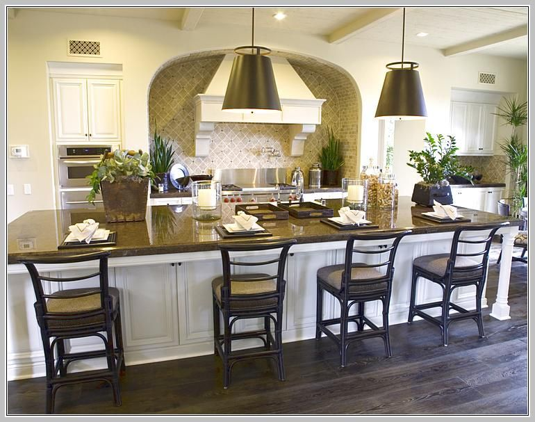 Large Kitchen Island With Seating And Storage | Kitchen island