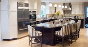 37 Multifunctional Kitchen Islands With Seating