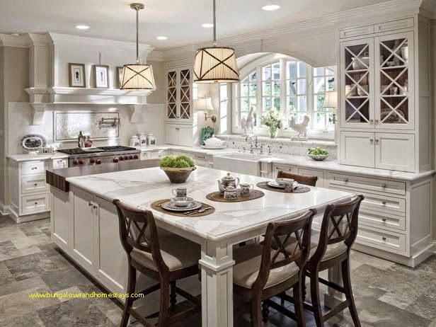 30 Beautiful Large Kitchen island with Seating and Storage