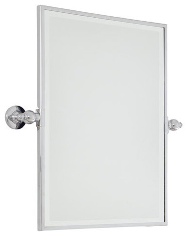 Minka Lavery Pivoting Bathroom Mirror, Extra Large