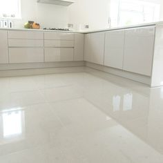 Crown Tiles | 60x60cm Super Polished Ivory Porcelain - Crown Tiles
