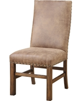 IMPACT_RAD. Emerald Home Furnishings. Emerald Home Upholstered Parson Nailhead  Dining Chair