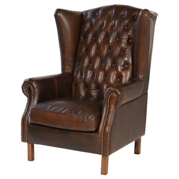 Joseph Allen Old World Wingback Chair | Wayfair