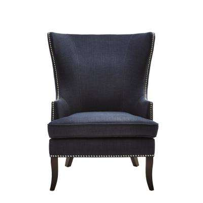 Nailhead Trim - Wingback Chair - Accent Chairs - Chairs - The Home Depot