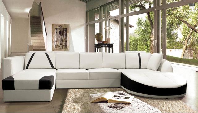 Living room modern corner sofa : raise   the look of living room