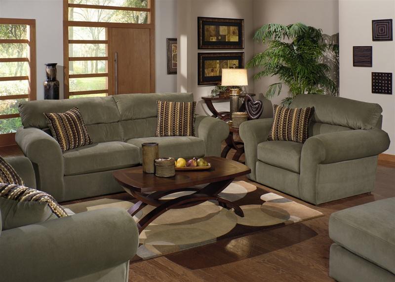 Mesa 2 Piece Sofa, Loveseat Set in