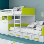 Selecting cool loft bunk beds with   storage for kids