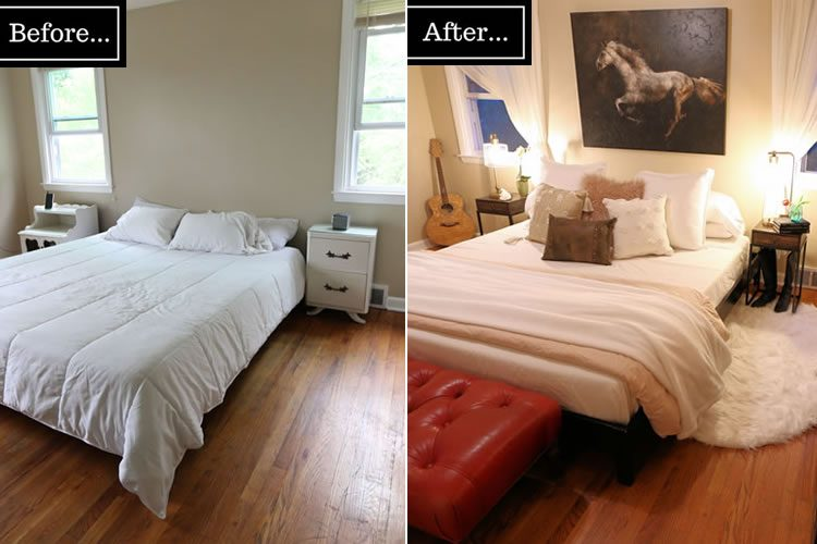 Budget Master Bedroom Makeover