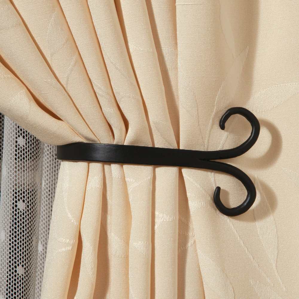 Scroll Curtain Tiebacks Set