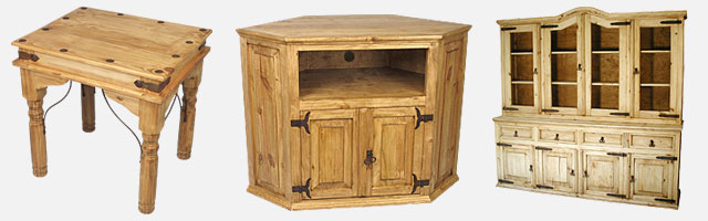 Mexican Rustic Pine Furniture Memorable Collection Decorating Ideas 23