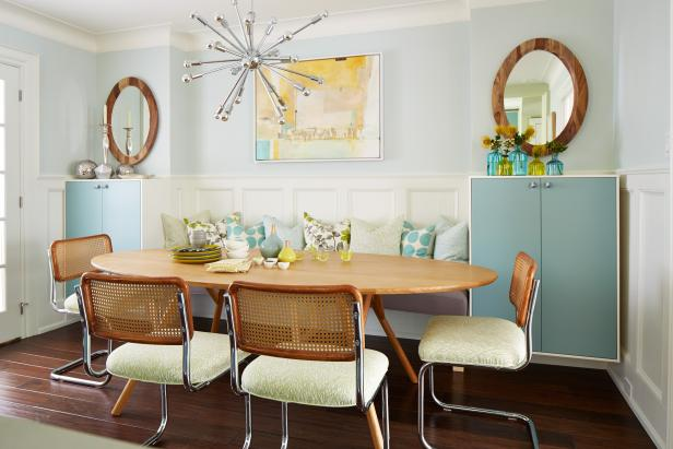 Mid-Century Modern Dining Room From Sarah Sees Potential