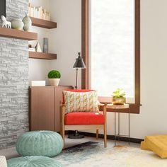 How I Designed My Grown-Up Living Room From Scratch. Mid Century Modern  Living RoomLiving Room ModernInterior DesignHome DesignRustic  DecorMidcentury