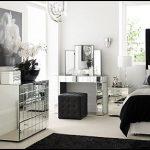 Good looking mirrored glass bedroom   furniture