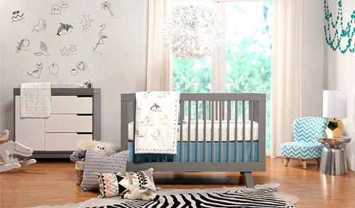 Posh Modern Nursery Furniture Nursery Furniture Modern Nursery