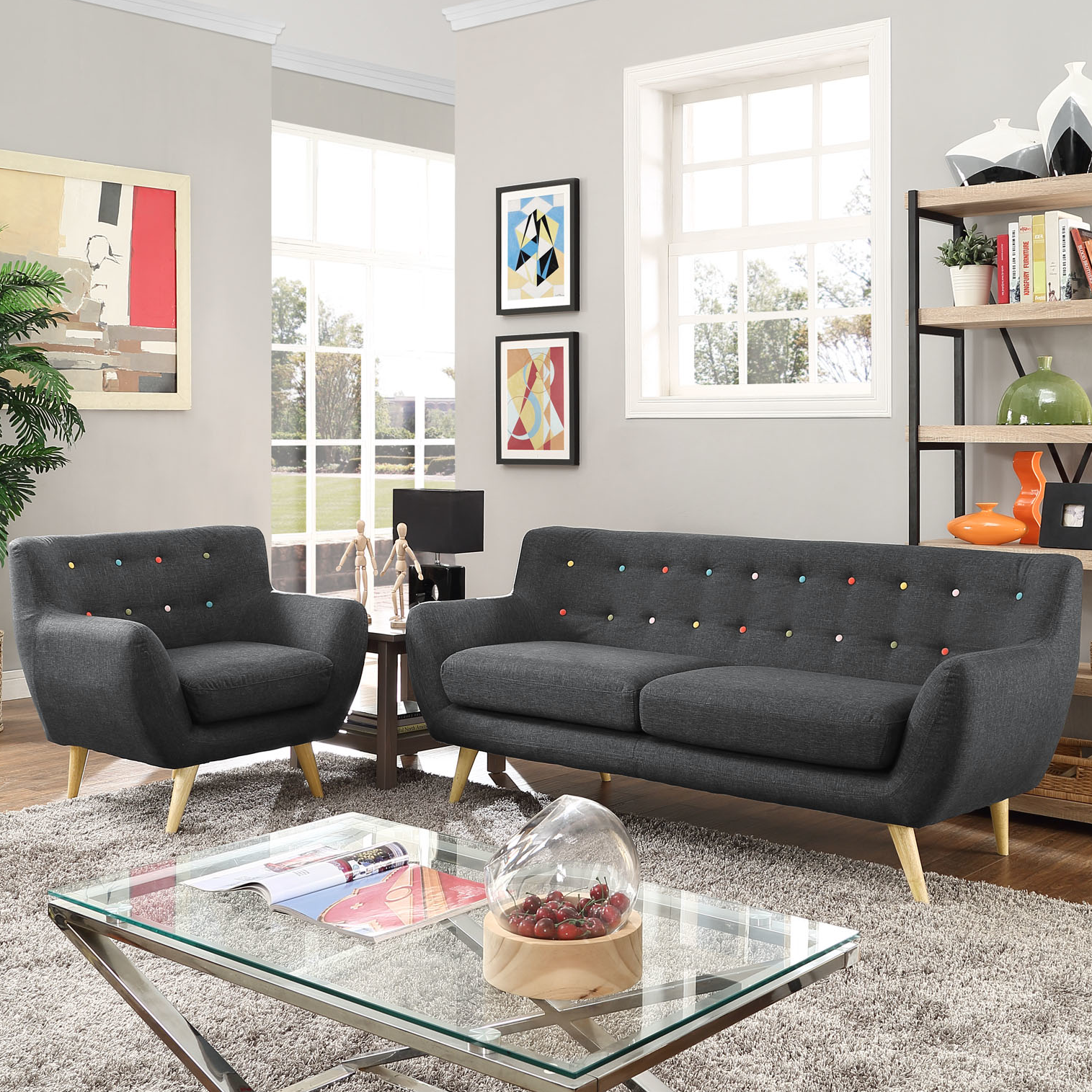 Buy modern design furniture for living   room to create an attractive area