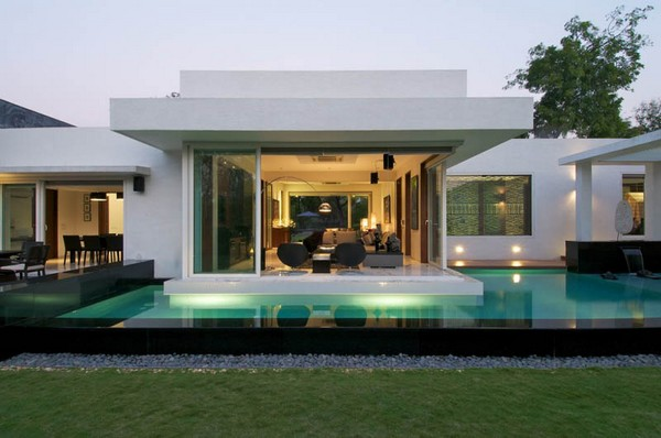 Modern dream house exterior designs ideas.