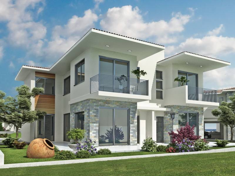 Exterior House Design Plans New Home Designs Latest Modern Dream Homes GMM