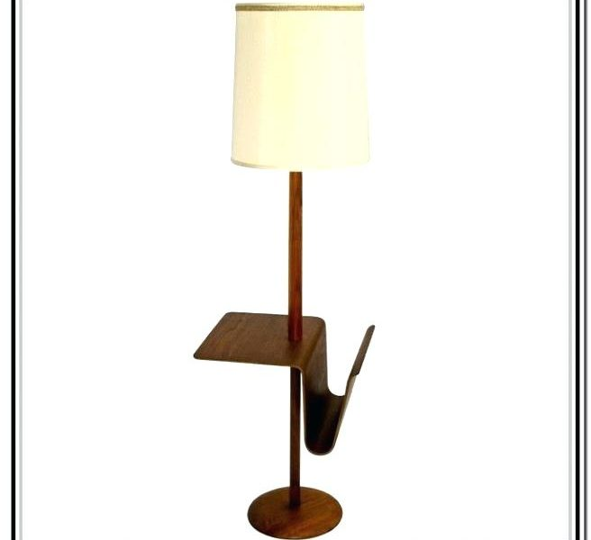 Floor lamps wonderful table with attached lamp floor lamp with