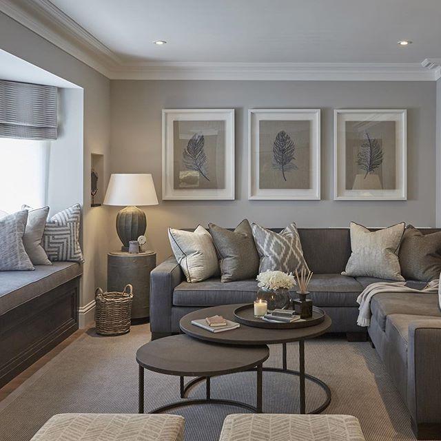 CONTEMPORARY LIVING ROOM | Grey Living Room | Traveller Location/  #contemporarydesign #contemporarydecor | Home Front | Living Room, Living  room decor, Room