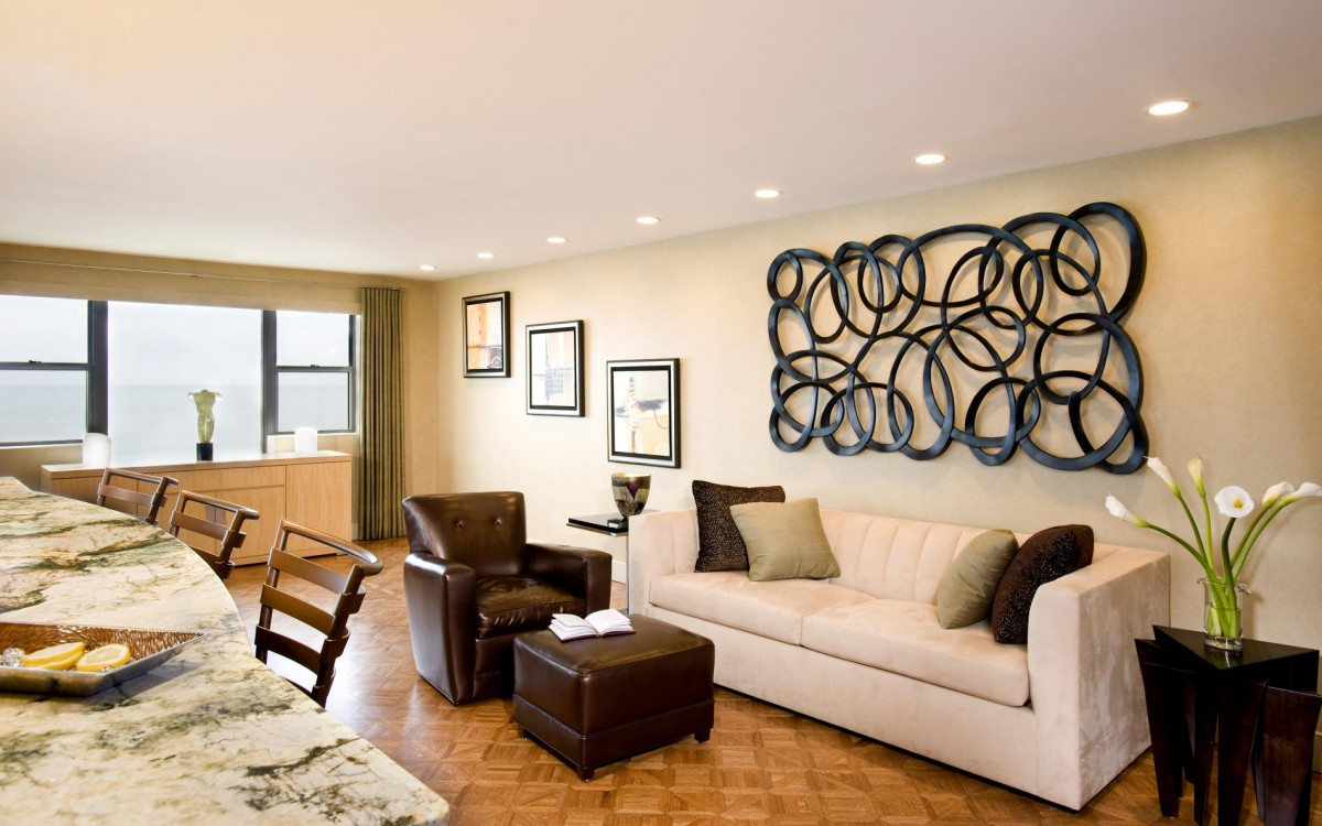 Modern Wall Decorations For Living Room Ideas
