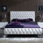 How to create a clean calm modern king   bedroom sets white