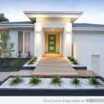 Modify garden with a beautiful modern   landscape ideas for front of house