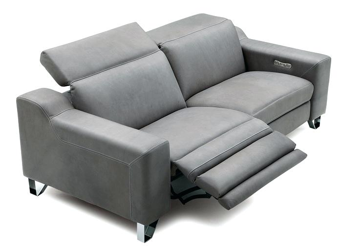 Get a contemporary look with modern   leather sofa recliner