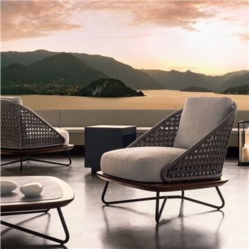 Minotti Rivera Armchair - Style # RiveraArmchair, Modern Outdoor Lounge  Chairs – Contemporary Outdoor Lounge Chair – Modern Outdoor Lounge Furniture