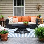 a unique theme for modern outdoor patio   decor ideas