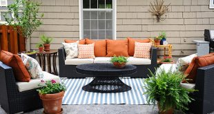 Patio Decorating Ideas: A Modern Chic Patio Refresh - The Home Depot