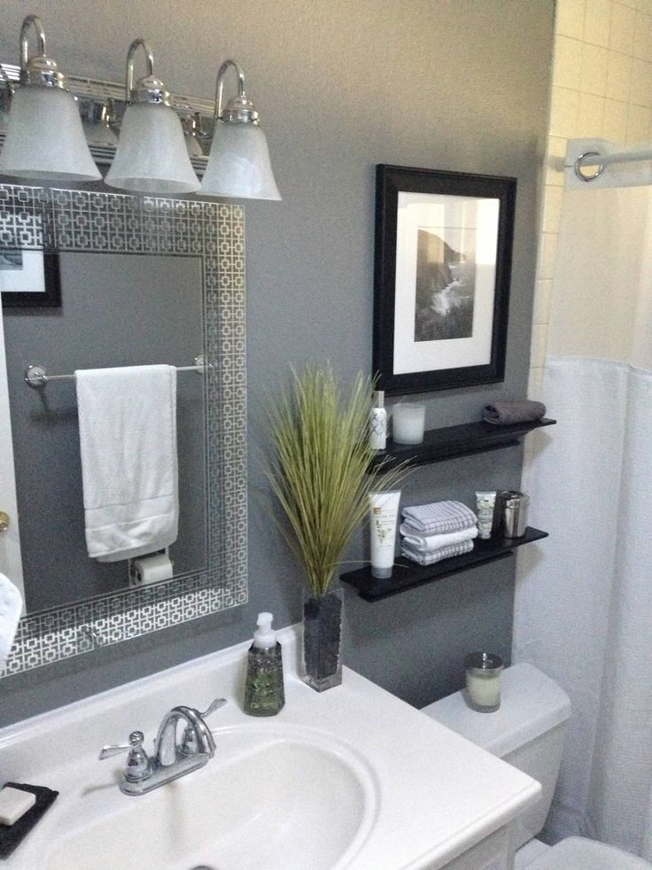 Gray Bathroom Ideas For Relaxing Days And Interior Design | Dream home |  Bathroom, Small bathroom, Bathroom design small