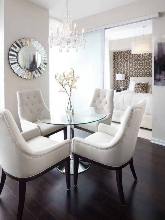 Enhance the appearance of your dining   room with fantastic modern small dining room decor ideas
