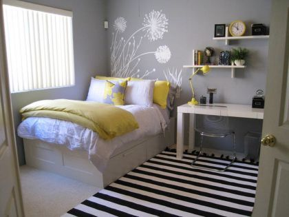 69 Cute Apartment Bedroom Ideas You Will Love | Apartment bedrooms