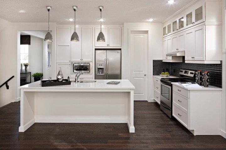 White Kitchen Cabinets - Modern - kitchen - Cardel Designs