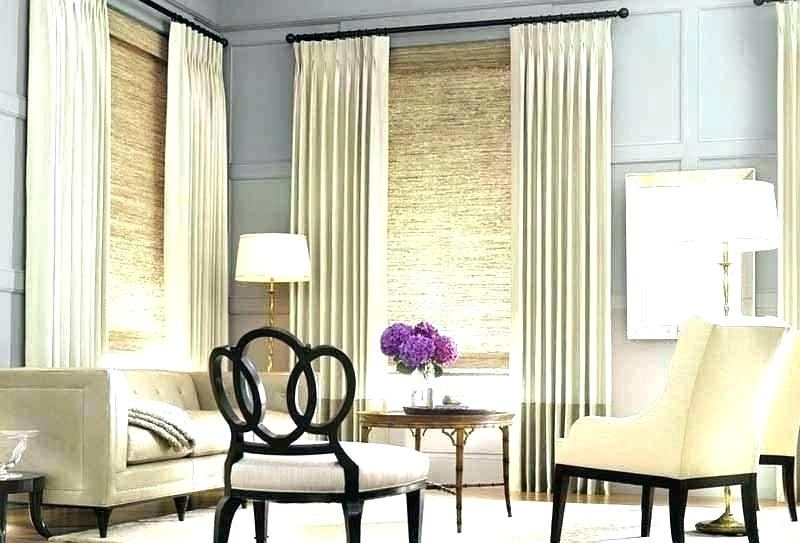 Bay Window Curtains For Living Room Bay Window Treatments Living