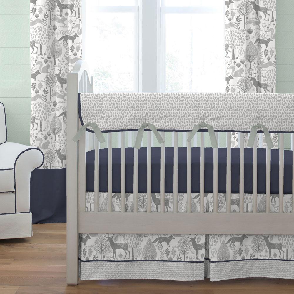 Buy modern baby woodland crib bedding