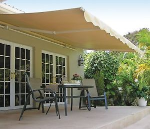 Outdoor Motorized Aluminum Sun shades Retractable Roof Awning 8m width x 5m  projection x 3m height -in Awnings from Home & Garden on Traveller Location