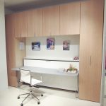 Save space with murphy bed with desk and   storage couch