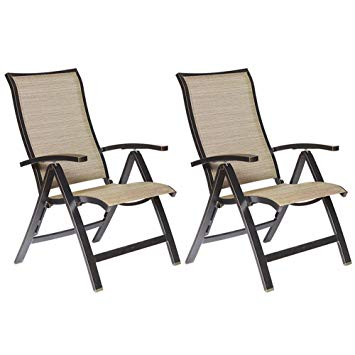Amazon.com: dali Folding Chairs with Arm, Patio Dining Chairs Cast