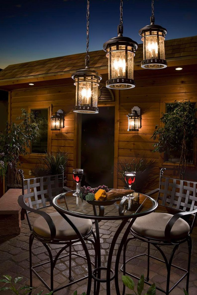 Hanging Patio Lights Ideas Summer Outdoor Lighting Ideas