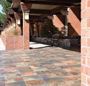outdoor tile over concrete patio | How to lay tiles over concrete » Do It  Your Self