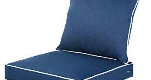 Amazon.com : QILLOWAY Outdoor/Indoor Deep Seat Chair Cushions Set