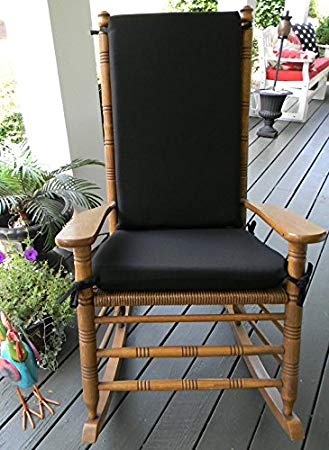 Amazon.com: Indoor / Outdoor Solid Color Rocking Chair 2 Pc Foam